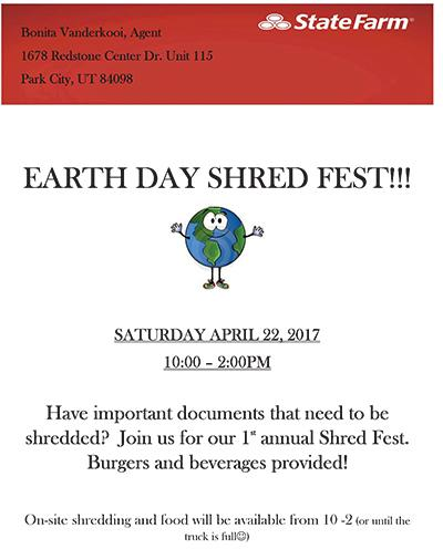 Shred Flyer