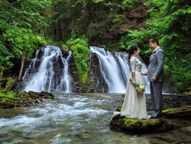 Salmon Bake Falls