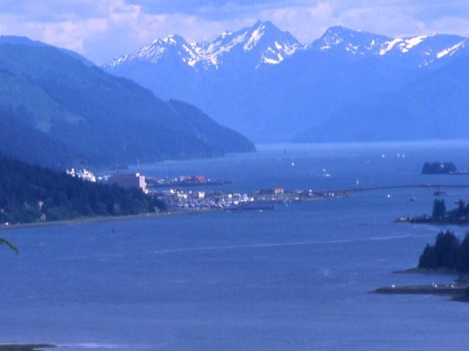 Overlooking Juneau!