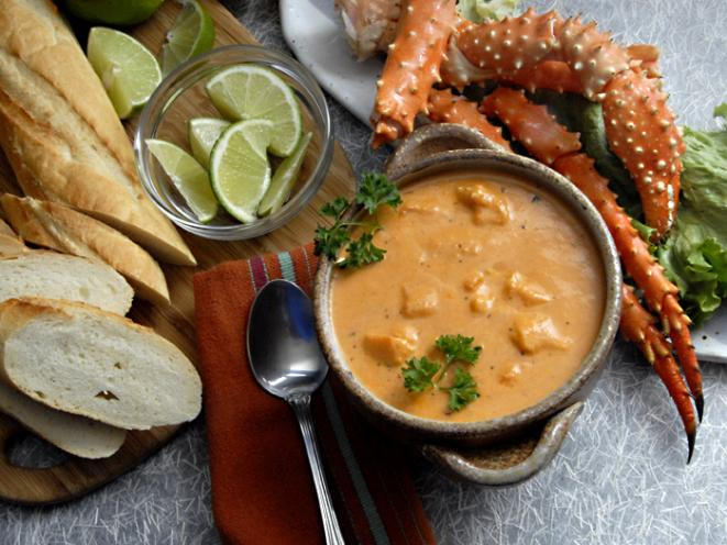 Tracy's King Crab Bisque