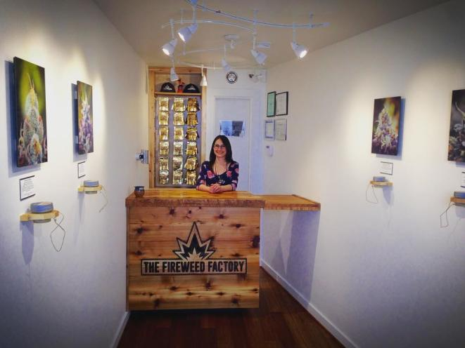 Emma, Our Friendly Budtender