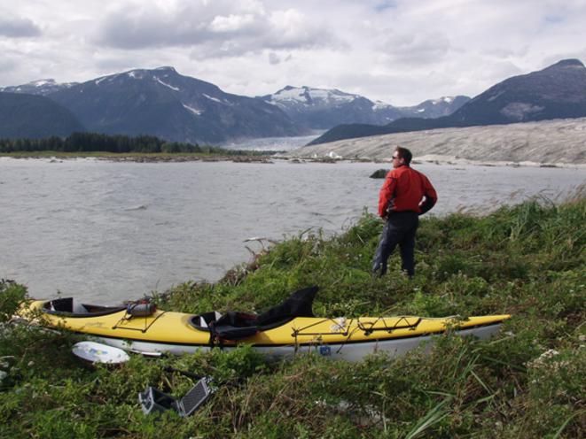 Sea Kayaking at Taku Glacier