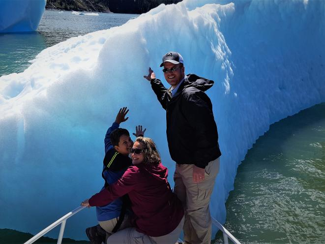 Best way to see Tracy Arm Fjord is on a Private tour!