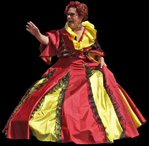 Redlady Cutout (Portugal Day)