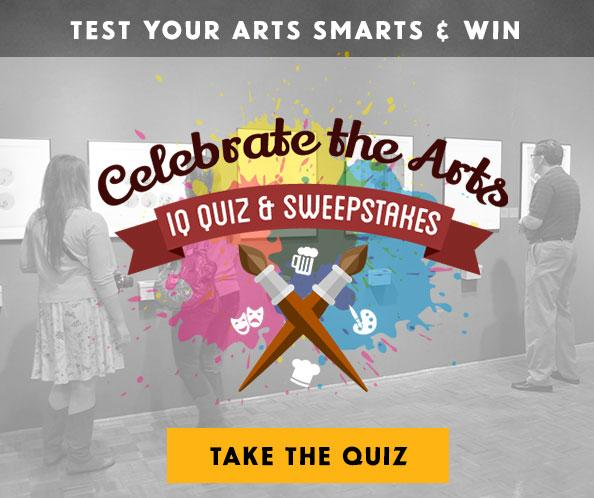 Celebrate the Arts - Enter to Win