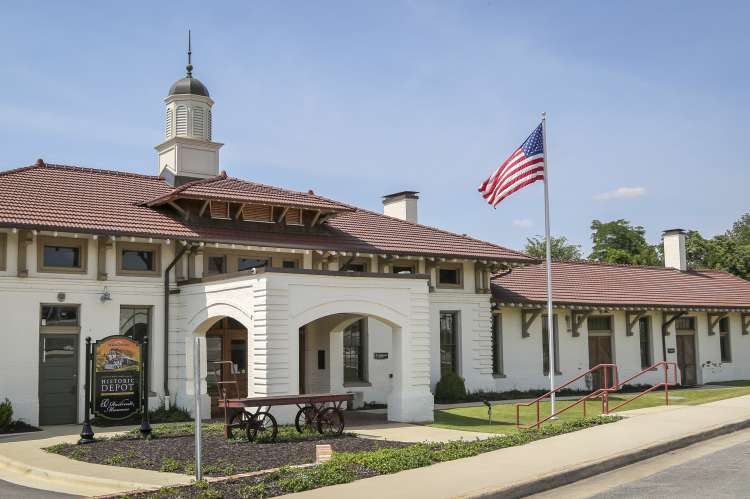 Decatur Depot Front