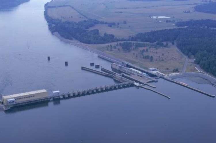 TVA Guntersville Dam and Reservoir