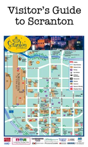 A small picture of the Scranton map