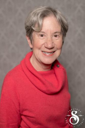 Valerie Ayres head shot Discover Saratoga