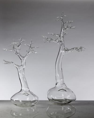 2013 ArtPrize Entry Simone Crestani (Molvena, Italy) – Bonsai Group, 2013. Borosilicate glass flameworked