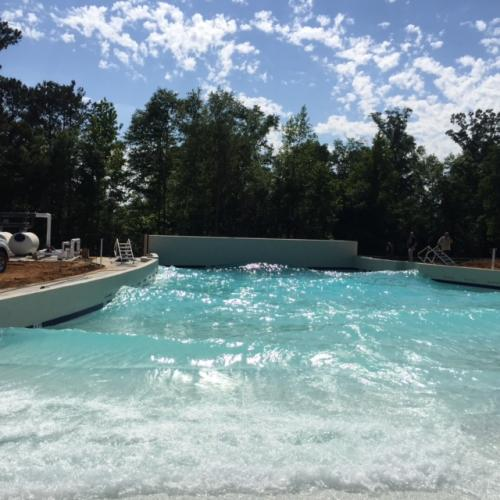 Sandy Beach Wave Pool