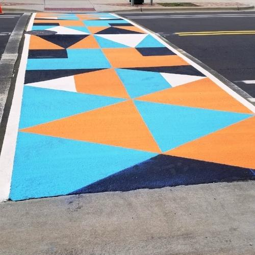 Copy of Colorful Crosswalk Project