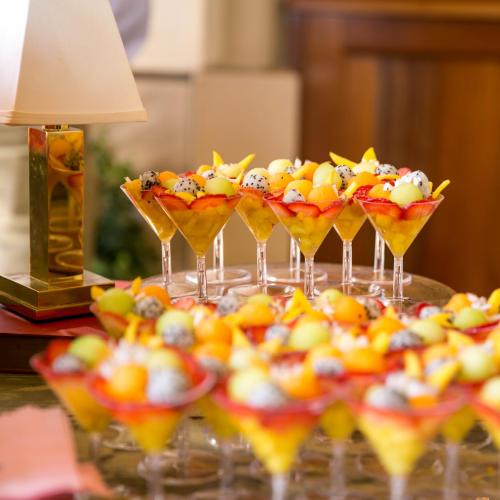Fruit Cocktails at Habana