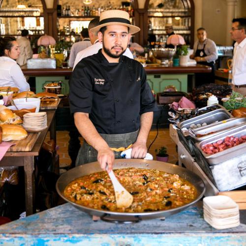 Paella at Habana Irvine