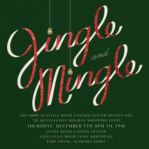 Jingle & Mingle at Little River Canyon Center