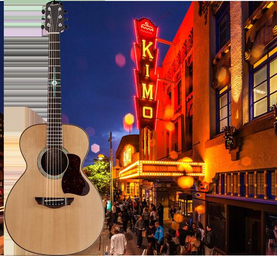 Pimintel Guitar and KiMo