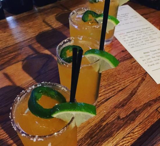 Margaritas at El Sombrero