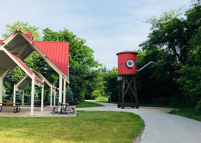 Erie Lackawanna Trailhead Crown Point
