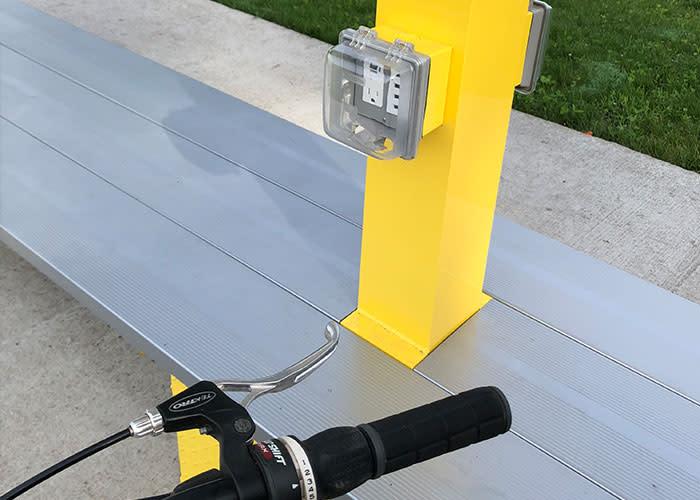 Erie Lackawanna Trail phone charger