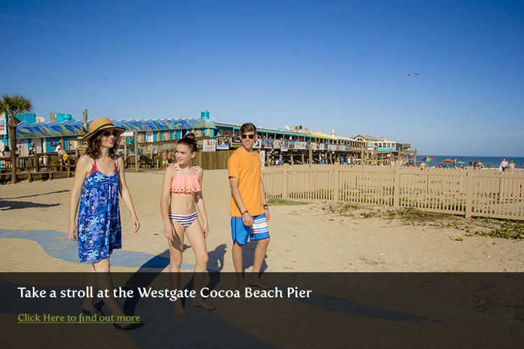 The historic Westgate Cocoa Beach Pier