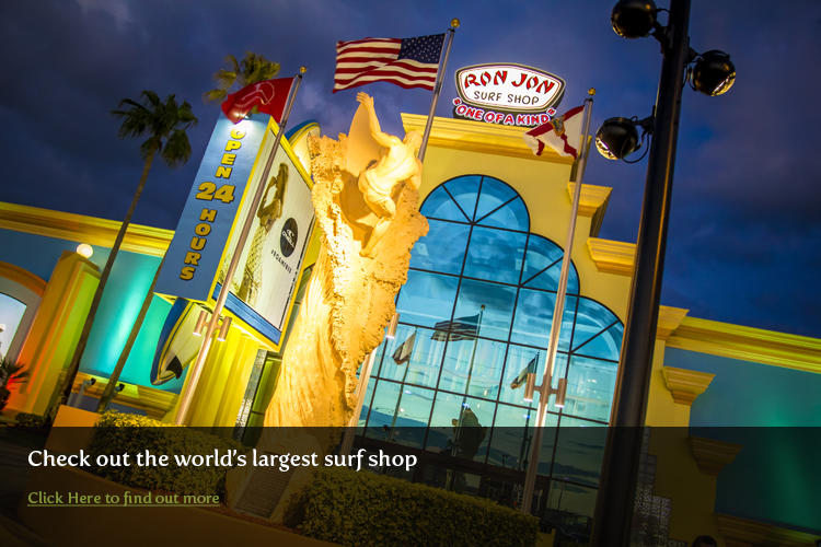 Ron Jon Surf Shop in Cocoa Beach