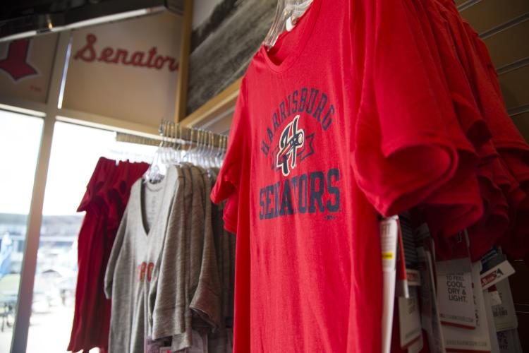 Harrisburg Senator shirts