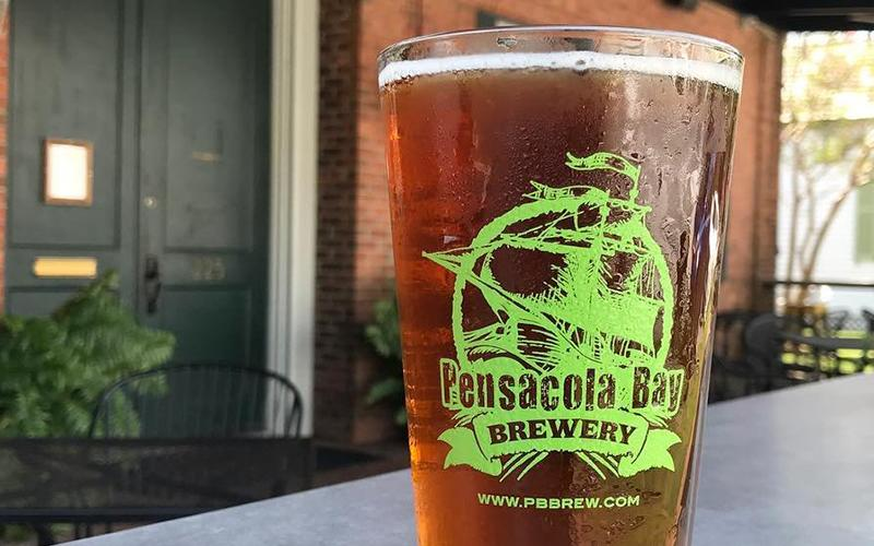 Micro-brew from Pensacola Bay Brewery