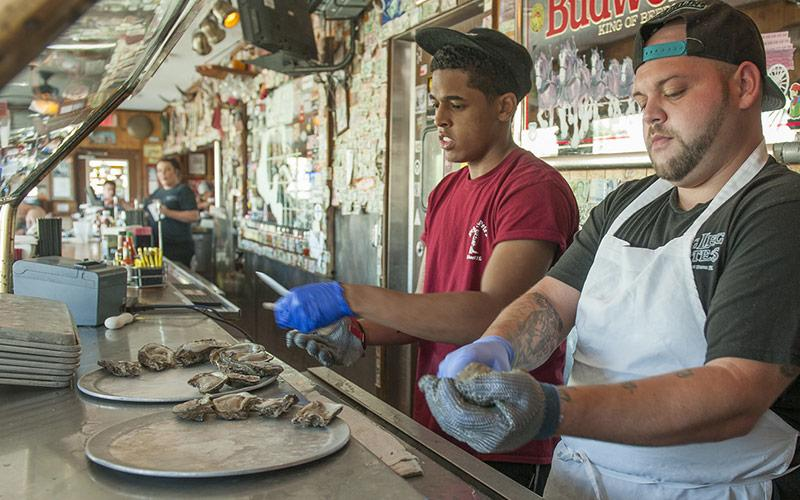 Oyster Shuckers