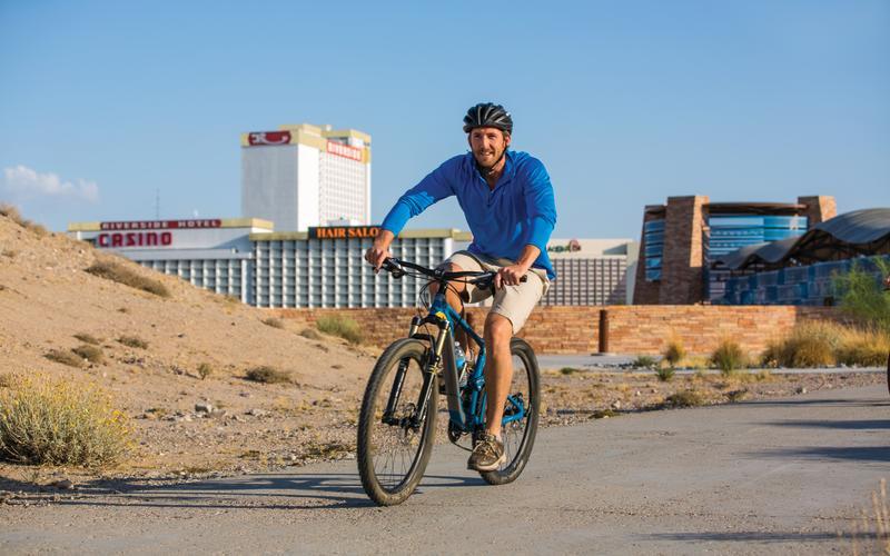 Laughlin bike riding