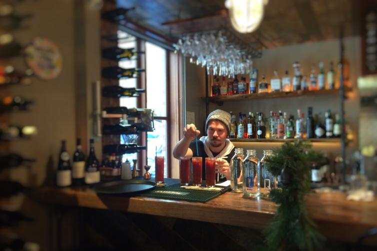Caesar at Krafty Kitchen + Bar