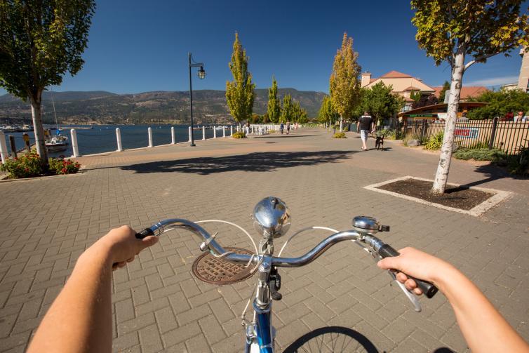 Cycling on the Boardwalk