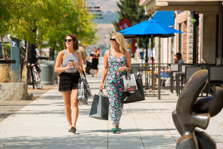 Shopping Downtown Kelowna