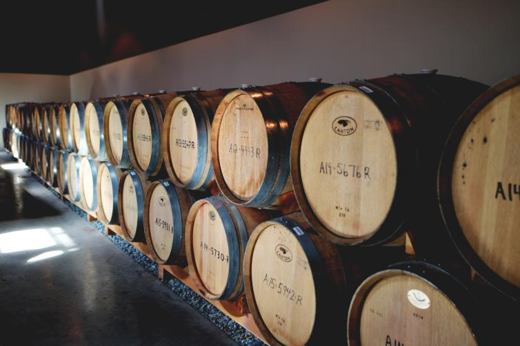Sandhill Barrel Room