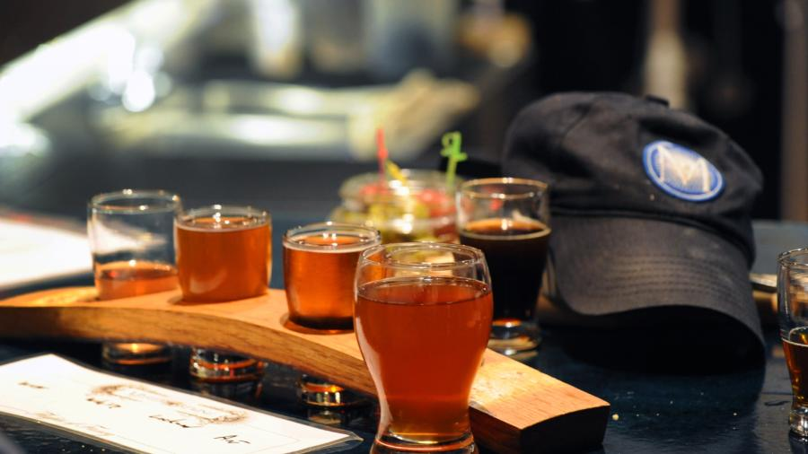 Copy of Mystery Brewing Company Flight of Beer
