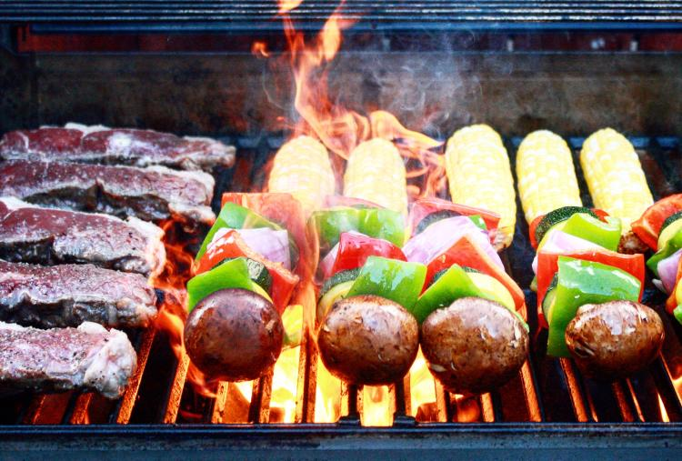 Grilling Close Up