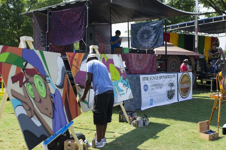 mondo roots art demo