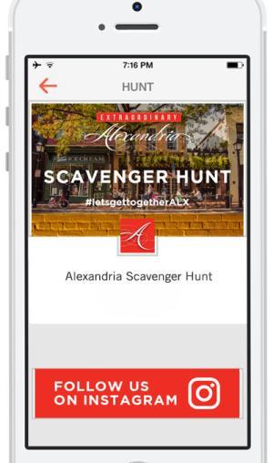 Scavenger Hunt Screenshot