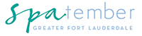 Logo for the Greater Fort Lauderdale Spas Deals: spatember