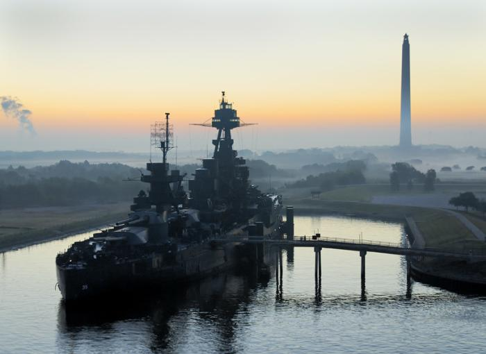 USS Texas in Deer Park