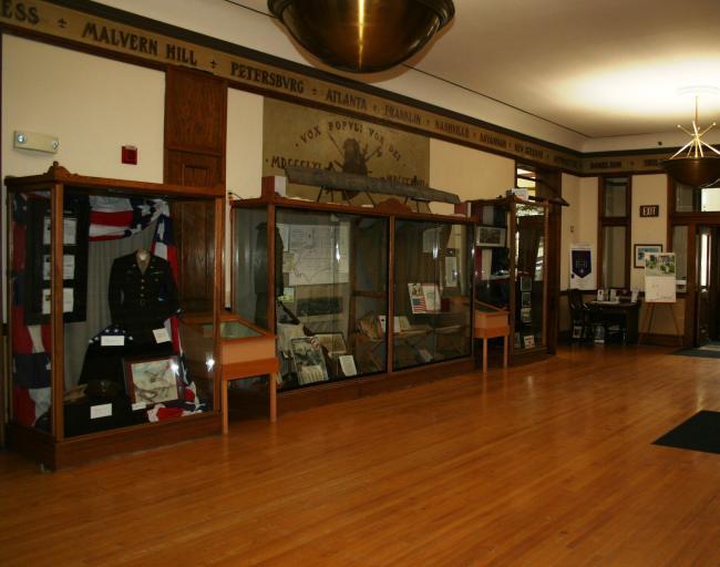 Veterans Memorial Hall interior