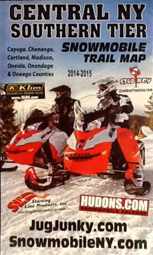 2014 snowmobile trail maps