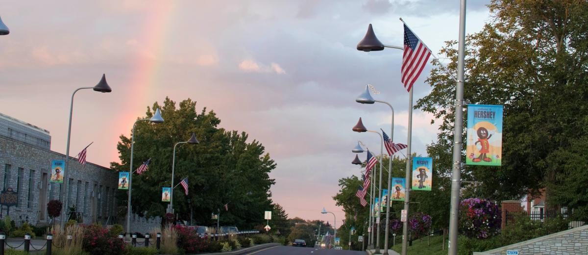 Hershey Rainbow