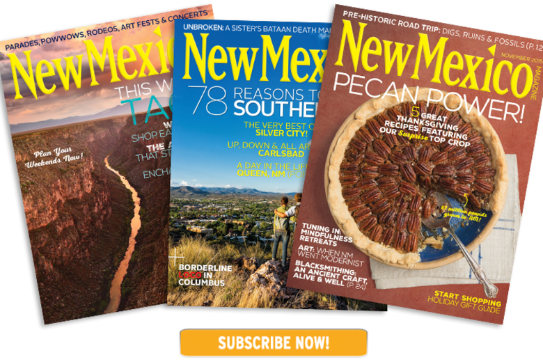 New Mexico Magazine Subscribe Link Image