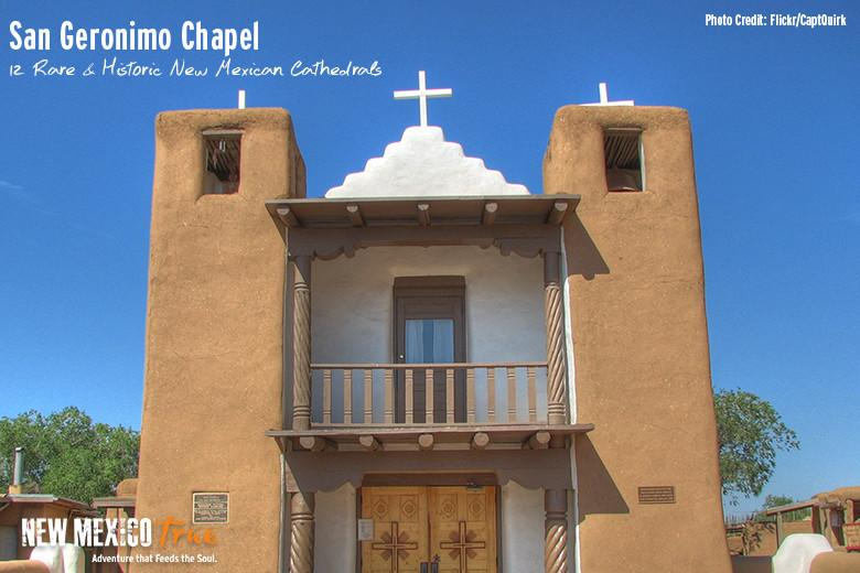 12 Rare Historic New Mexican Cathedrals
