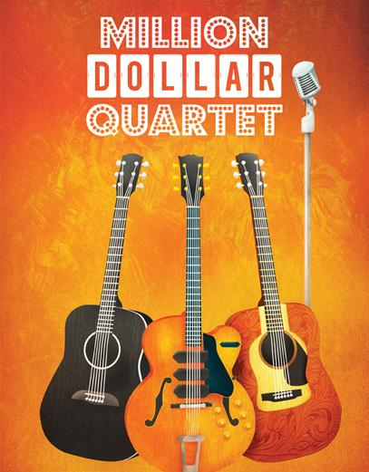Million Dollar Quartet Poster from Geva Theatre