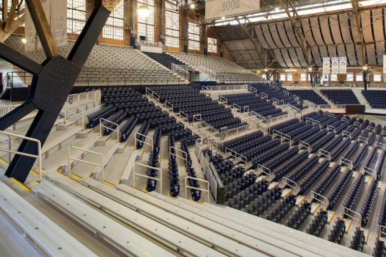 Basketball Bleachers - Butler University - 2