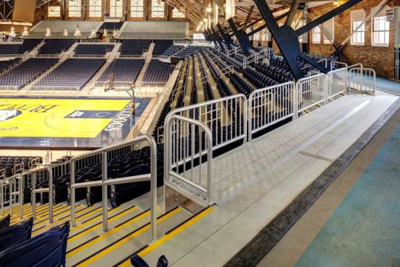 Basketball Bleachers - Butler University - 6