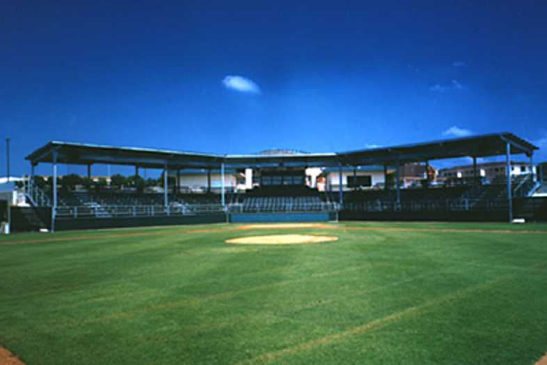 Baseball Bleachers - Weatherford College