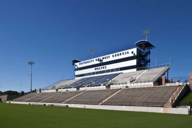 Football Bleachers - University of West Georgia