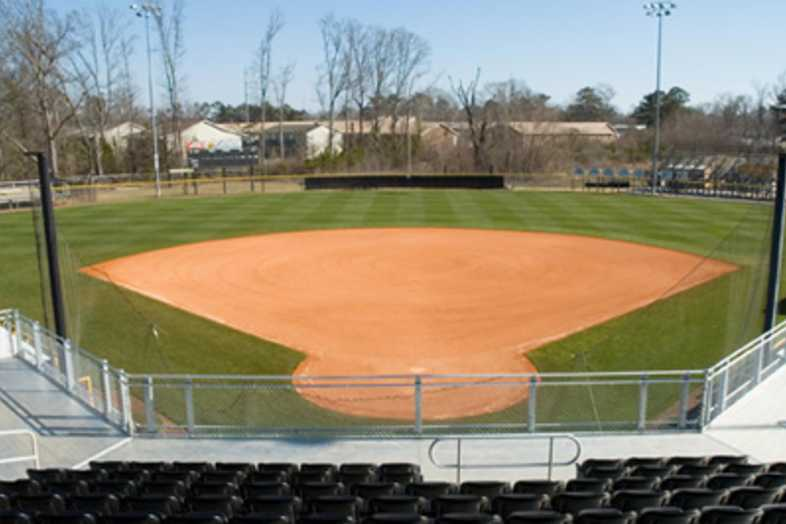 Softball Bleachers - University of Southern Mississippi